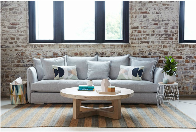 The Lisa Sofa: Modern and Contemporary Living Room Furniture
