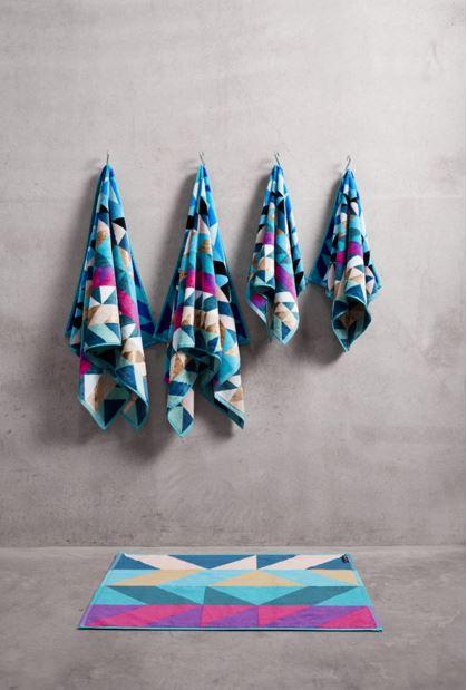Peacock Bath Towel Set