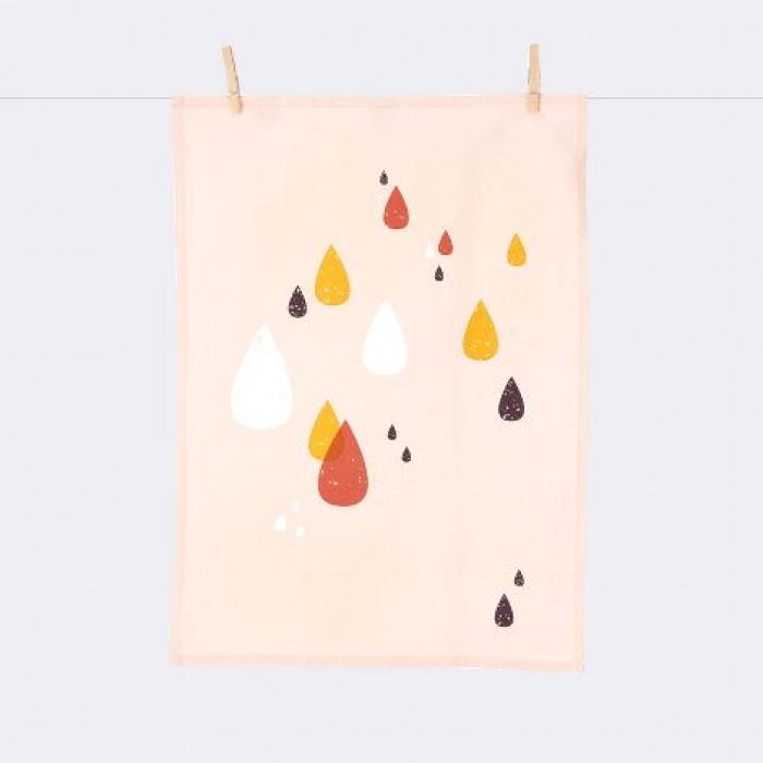 Norsu Interiors -  Ferm Living Drops Tea towel $25.00