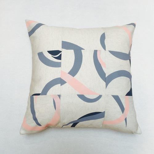 Bel & Blue -  Hand printed Cushion - $59.95
