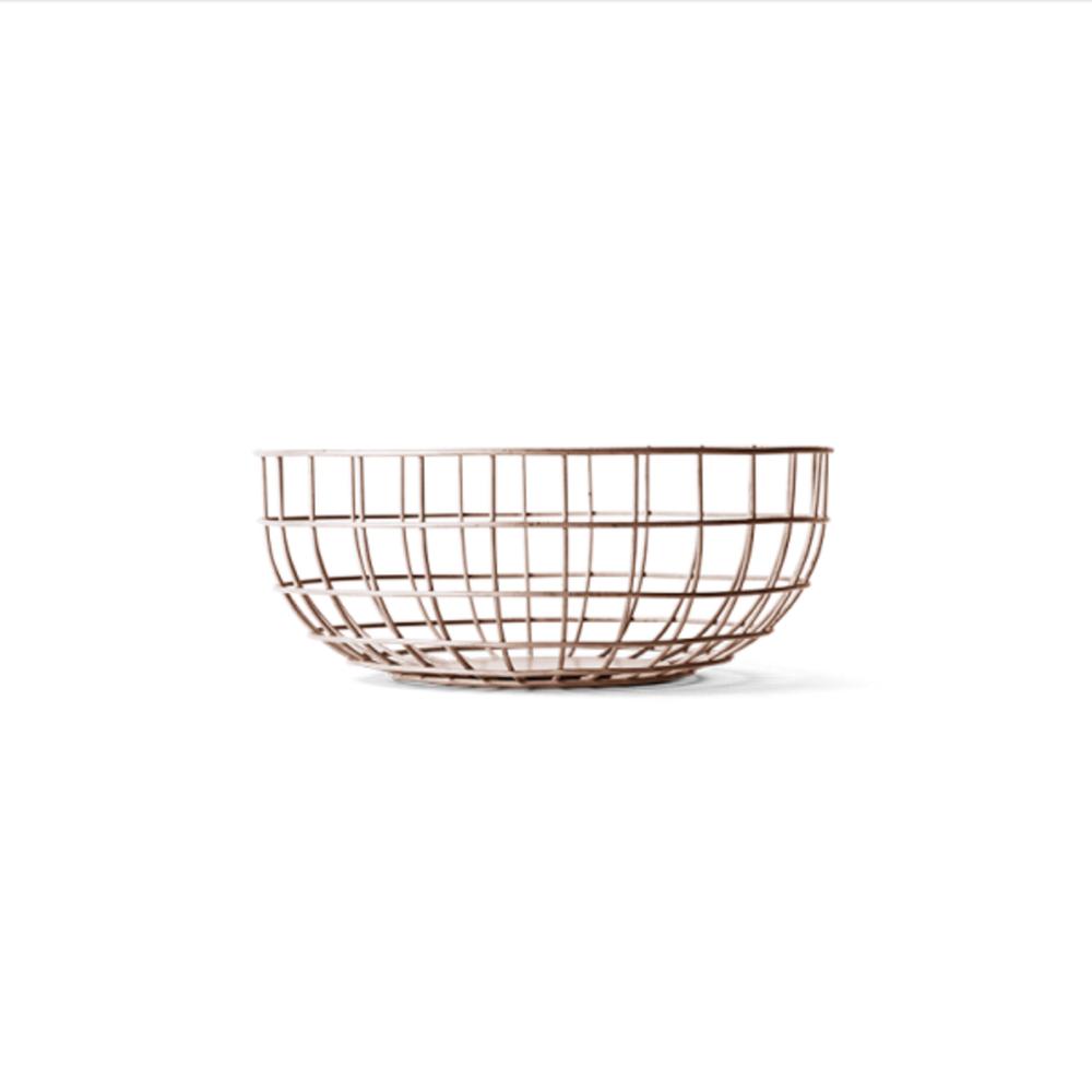 Fresh Cut Interiors -  Wire Basket - $95