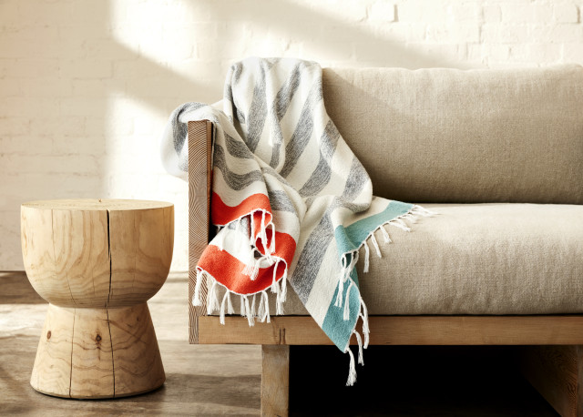 Avalon beach throw in salmon $59.95