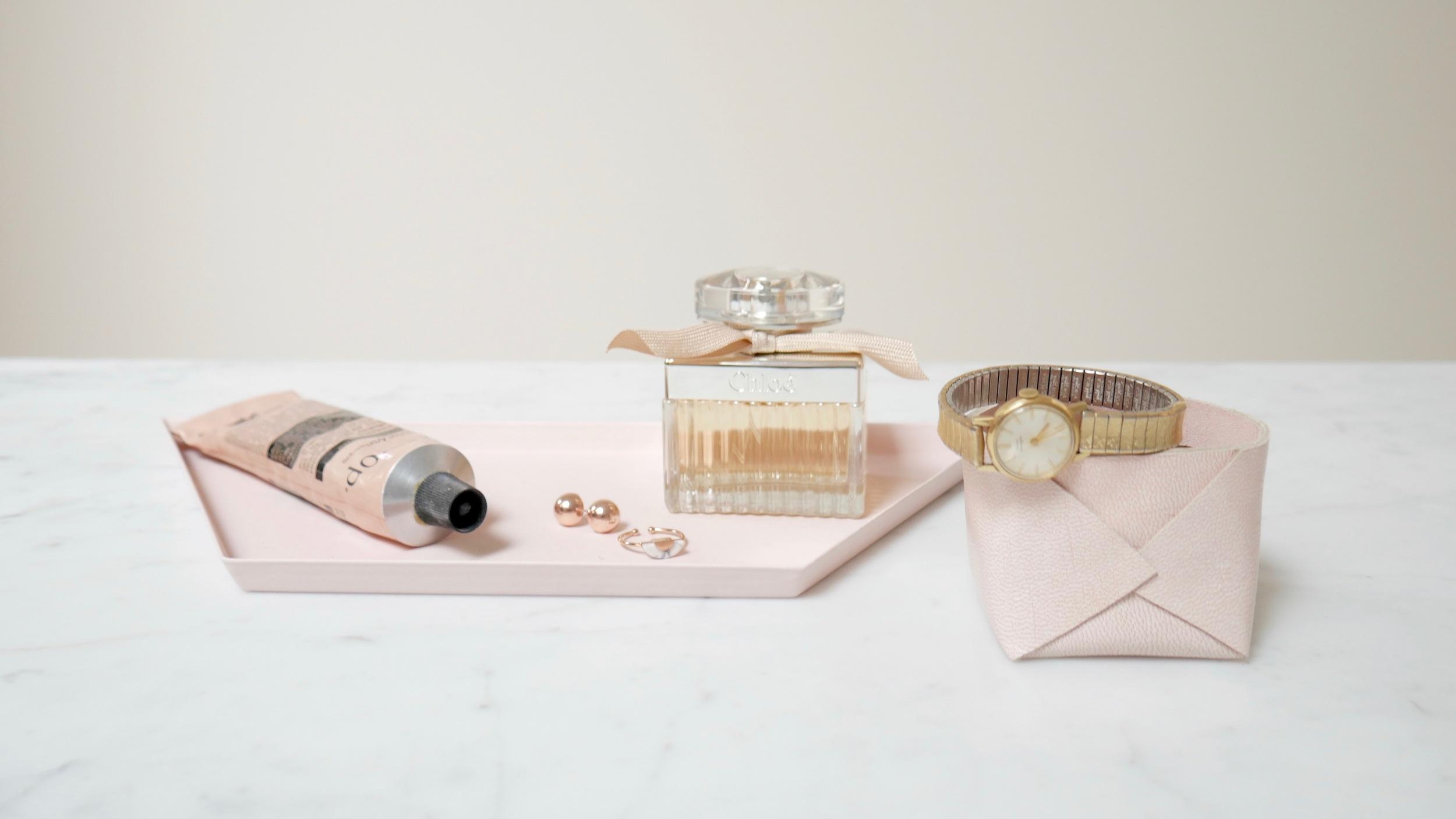 Envelope Basket Mini - Blush