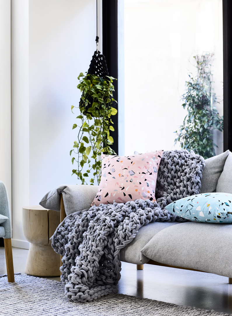 Rebecca Judd Loves Home Republic Terrazzo Cushions $59.95ea