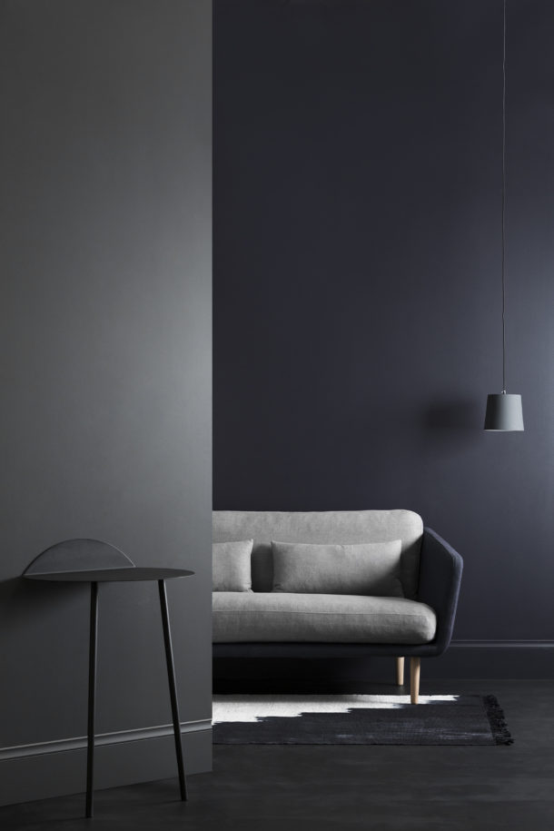 Haymes Interior Expressions low sheen acrylic in Coal Mine - part of the 'Pitch Dark' collection