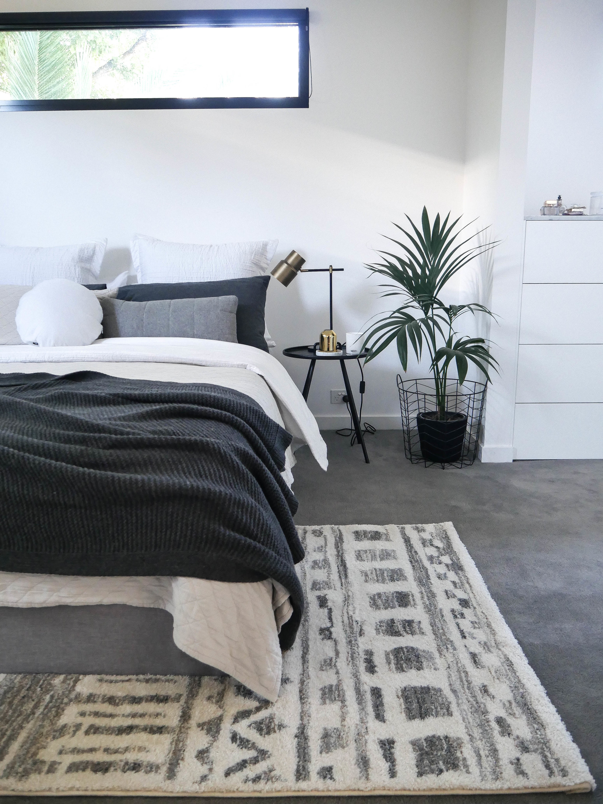 For my bedroom I chose the  Jordan Modern Rug  as I love the pattern and colours but it's also sooooo soft and fluffy!