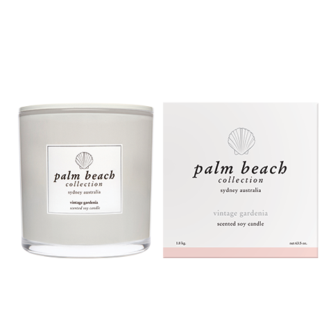 Vintage Gardenia Deluxe Candle -  Palm Beach Collection $99.95