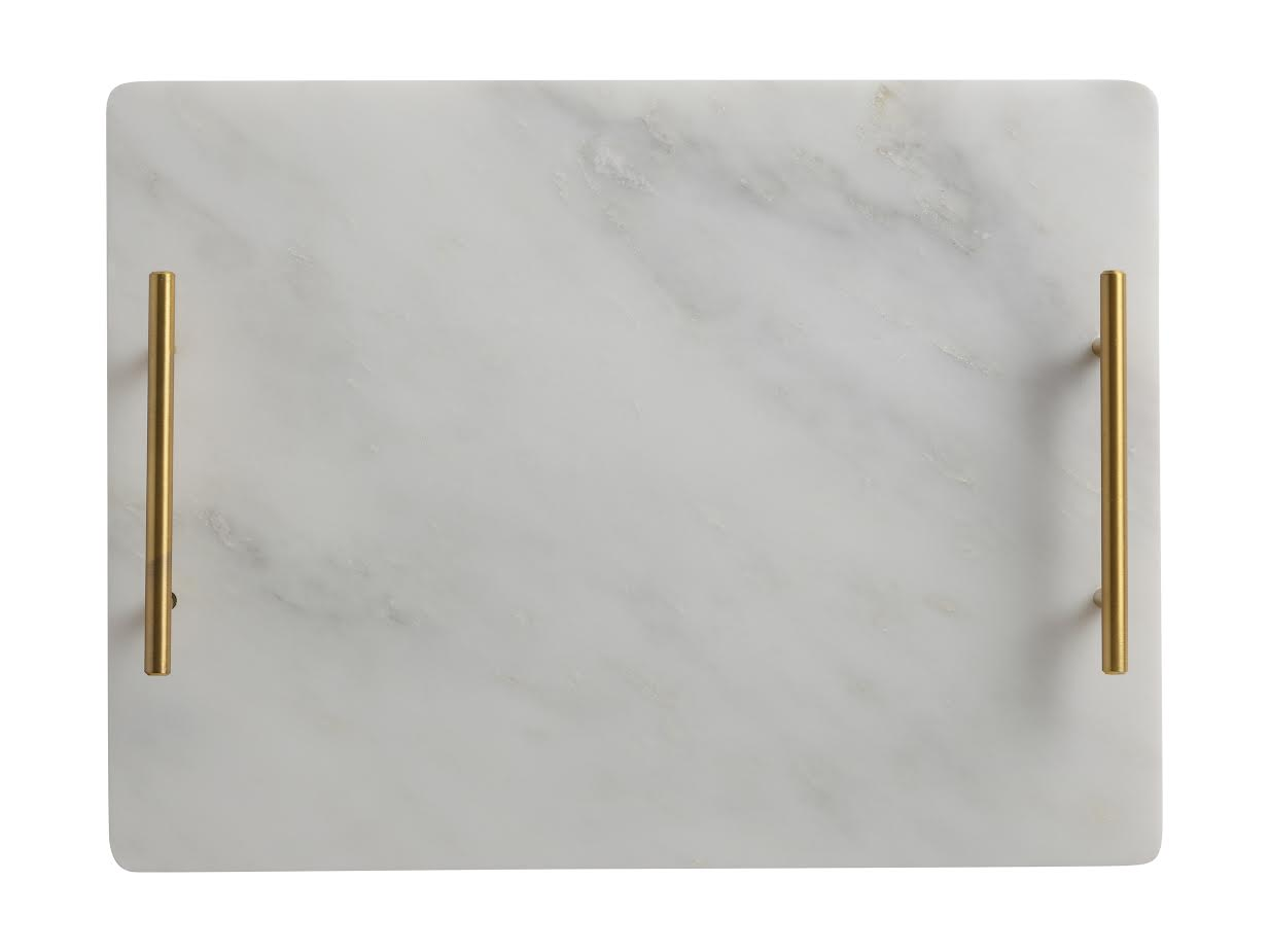 Marble Tray Gold Handles -  Maxwell Williams $49.95