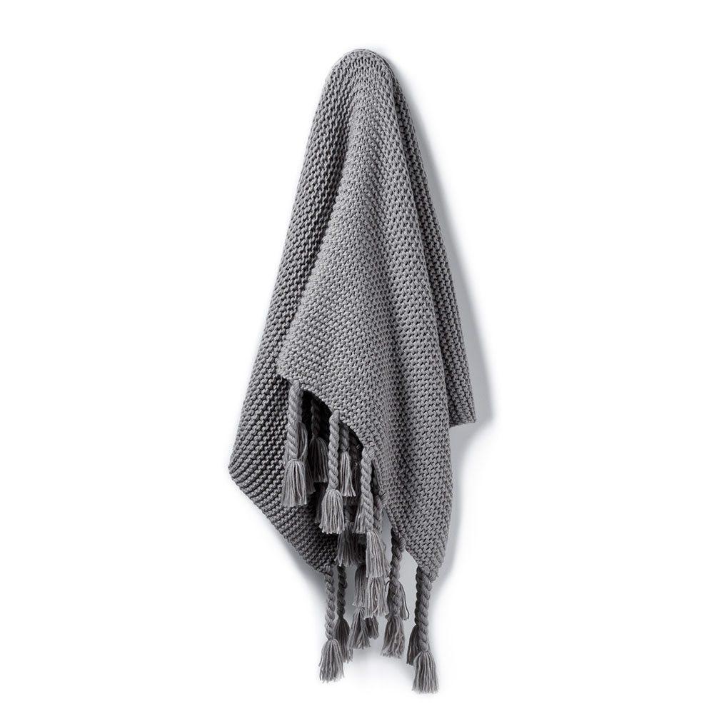 Mid Grey Throw -  Adairs $83.97