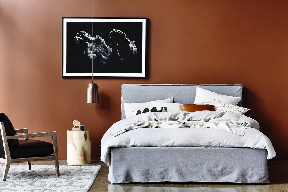 Globe West from Norsu -  Vittoria Slipcover Beds