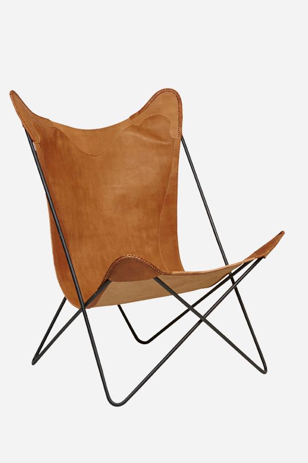 Leather Butterfly Chair -  Fenton & Fenton