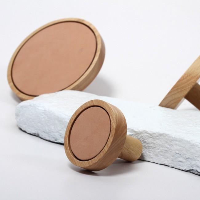 Buffalo Leather Wall Dot -  ClickOn Furniture