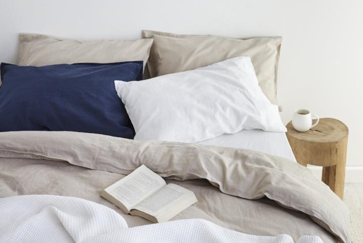 Sogno Linen Cotton Quilt Cover Set