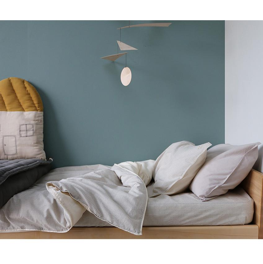 Camomile -Double Check Duvet Cover