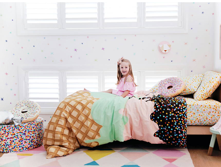 Sack Me - Double Sunday Quilt Cover
