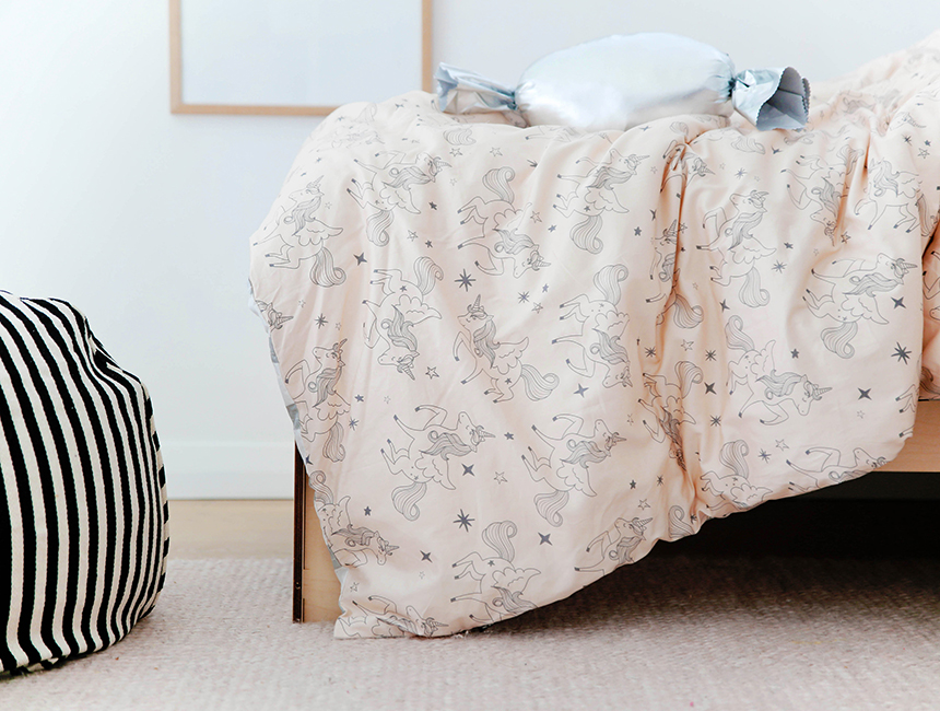 Sack Me - Unicorn fitted cot sheet
