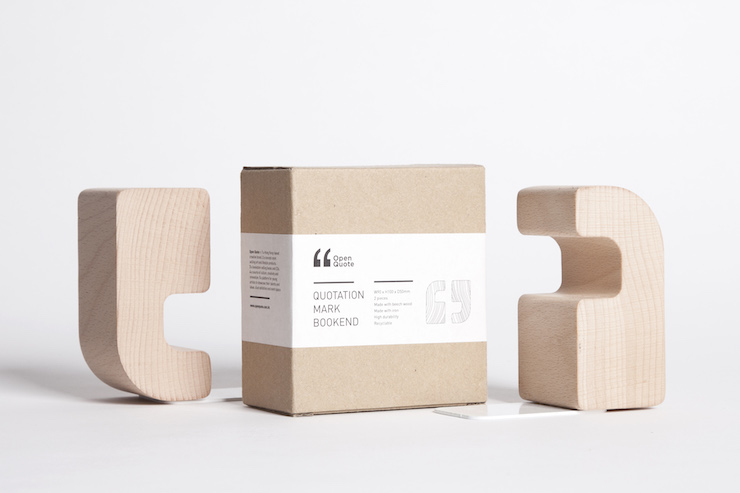 05_Bookend Open Quote Wooden_02.JPG