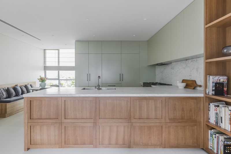 Design - Blue Tea Kitchens & Bathrooms | Photography - Pablo Viega