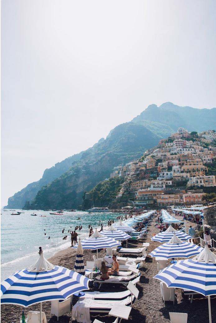 Dan Castano –   Beach Club, Positano
