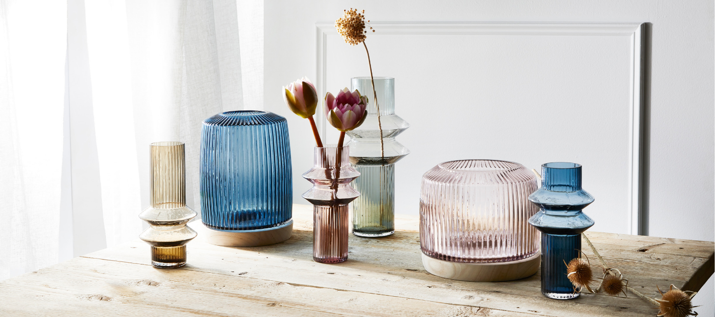 Marmoset Found -  Pleat vases