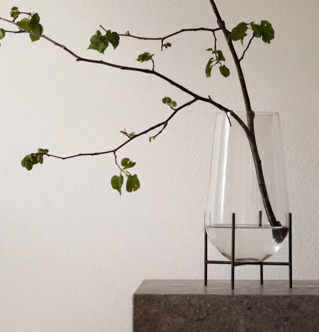 Designstuff -  Echasse Vase Clear Small