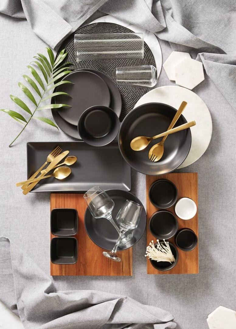 kmart-august-2016-black-and-grey-dinnerware-with-gold-cutlery-the-life-creative.jpg
