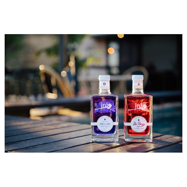Another cool thing I've been working on: @ink_gin's release of their limited editon Sloe & Berry gin. Super stoked with how the images turned out from this shoot - lots more mouth-watering cocktail photos to come 🍹