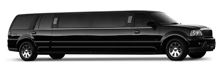 Stretch Lincoln Navigator - Seats 1-14 passengers