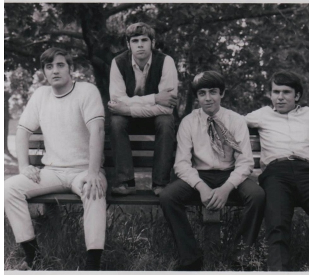 Me (left) with The Renegades, 1967
