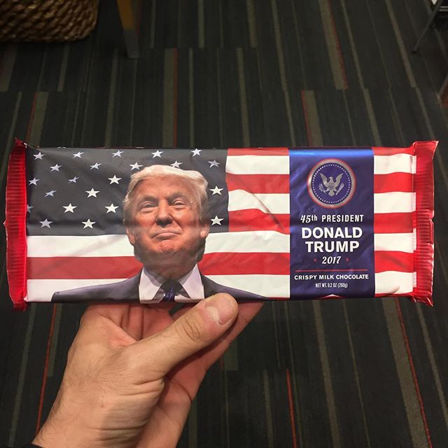Great chocolate. So bigly. 🍫