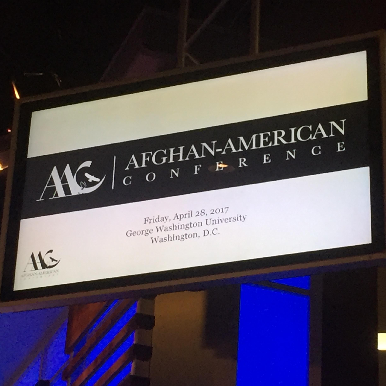 Afghan-American Conference Keynote Speaker, Washington D.C.