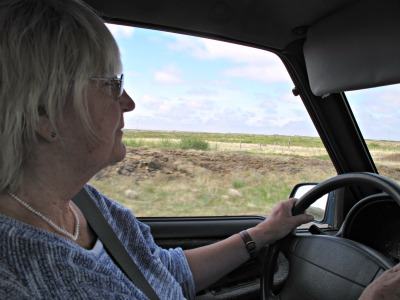On the road with Mum
