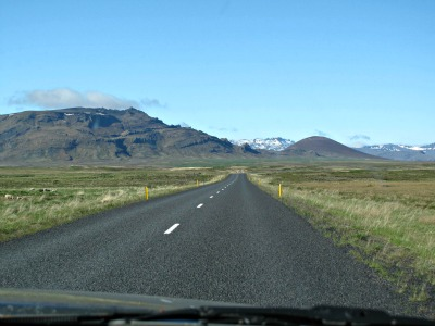 Beautiful views on the road