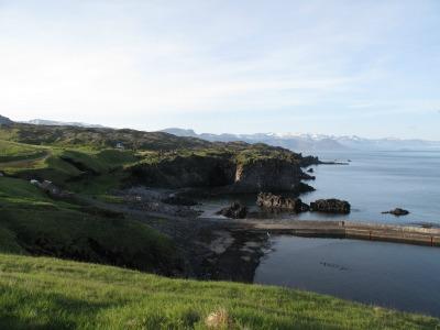 10pm overlooking Hellnar Bay