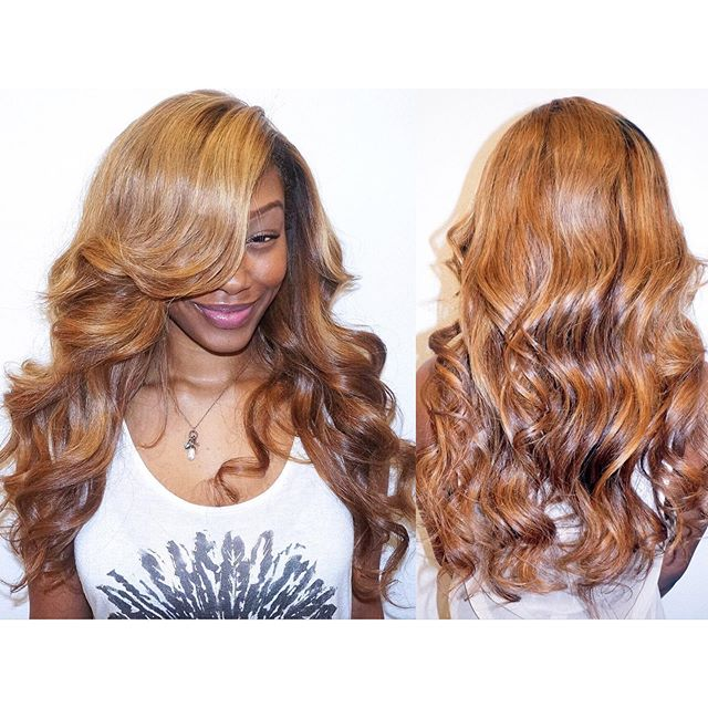 #fbf — Install, color, cut, & style with hair from @giovanniandsonlb / silk base closure from @bestlacewigs . . _____________________  #hairextensions #lahairstylist #sewinweave #fullweave #behindthechair #modernsalon #lahair #ochairstylist #honeyblondehair #bridalhair #ocbride #bundledeals #lacefrontal #labraider #laweaves