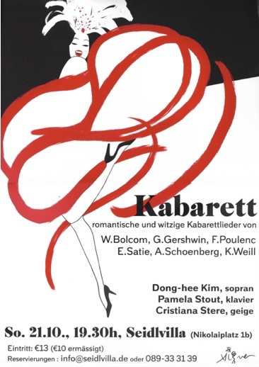 opera performance poster