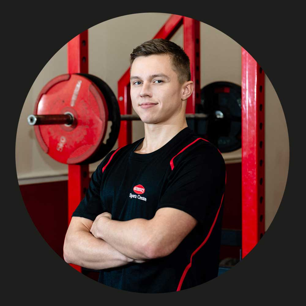 JORDAN - Jordan is one of the newest staff members, having recently taken over from Matt.He is currently on a personal training course and is hoping to become a PT within 18 months.