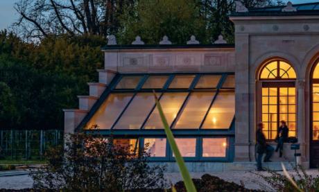 Die Orangerie in den Merian Gärten wurde 2014 saniert und wird nun als Veranstaltungsort genutzt. Foto:©Merian Gärten