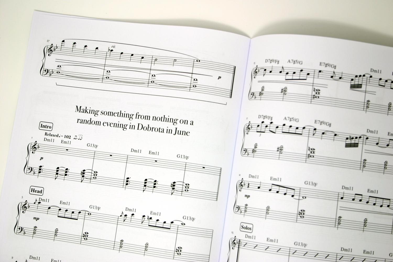Garreth Broke Making Something From Nothing On A Random Evening In Dobrota In June Sheet Music