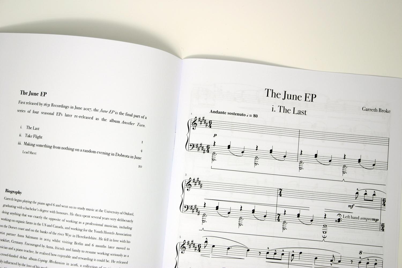 Garreth Broke The Last Sheet Music