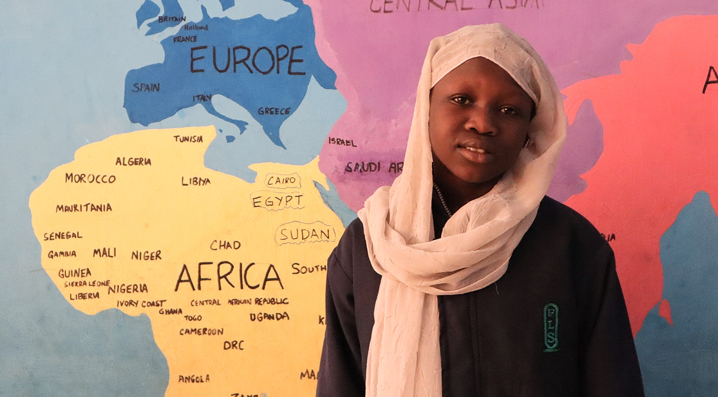 """ The education  will change our society better than politics. I always believed that the latter ruined my country and that's why  I wish to become a teacher.  To enable students and people to effectively change Sudan into a better place!"",  Remas, 11 years old"
