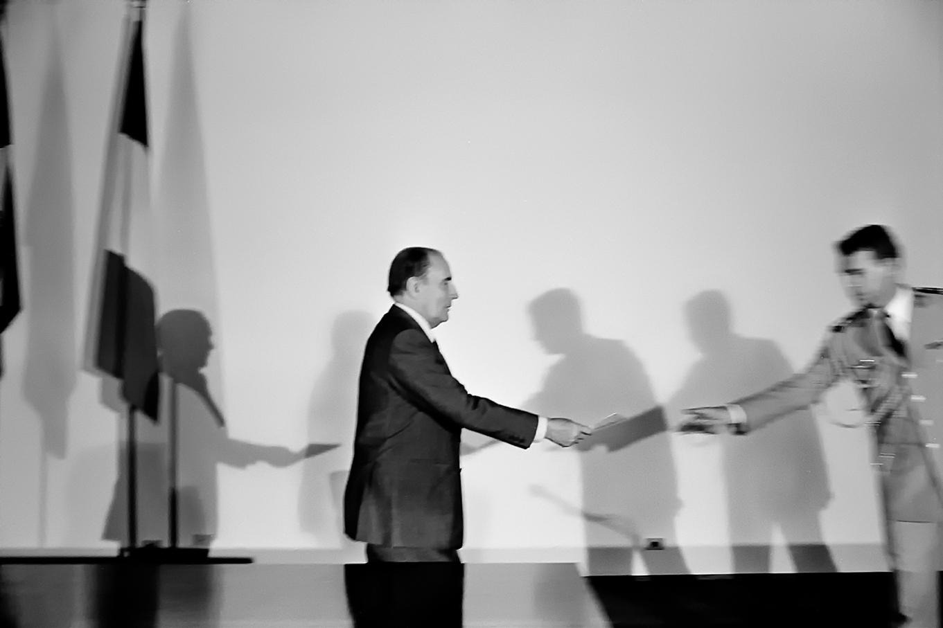 President Mitterrand in Brasil