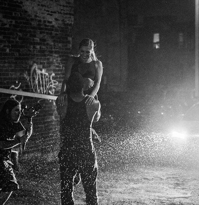 Life is not about running from the storm... it's about learning to dance in the downpour. • #BEHINDTHESCENES @fearceacademy x @playbookhubca short film shot by @balkanada. • 📷 @jeremiedupont  #playbookhub #fearceacademy