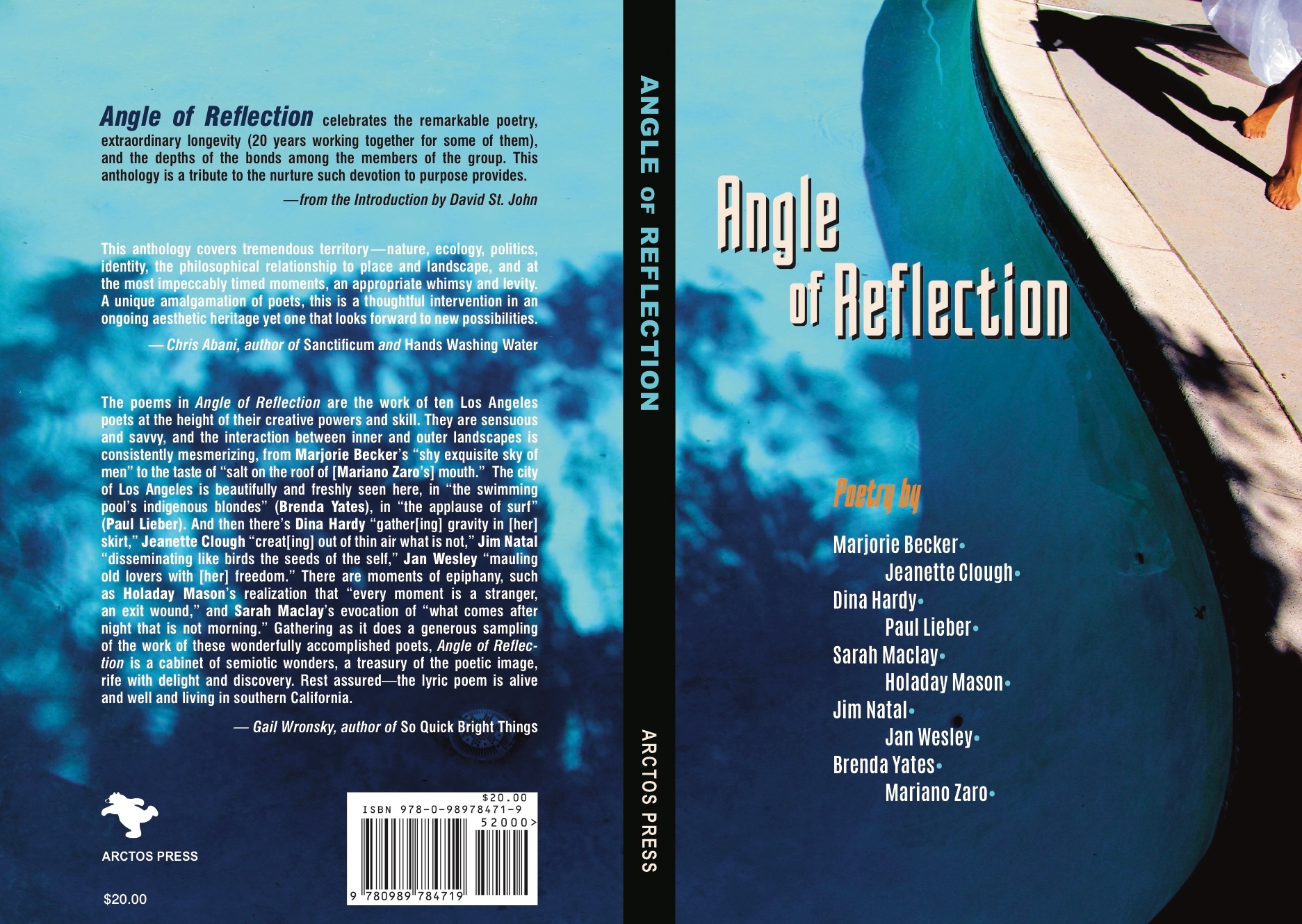 angle of reflection los angeles poetry anthology