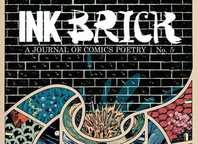 Ink Brick cover vol 5 dina hardy poetry comics.jpg