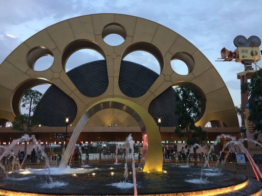 motion gate film reel fountain dubai parks and resorts