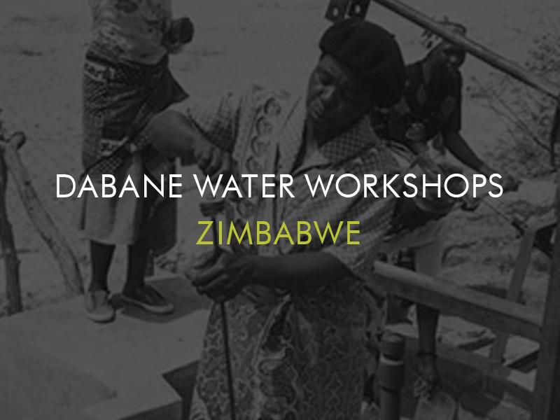 Dabane Water Workshops, Zimbabwe