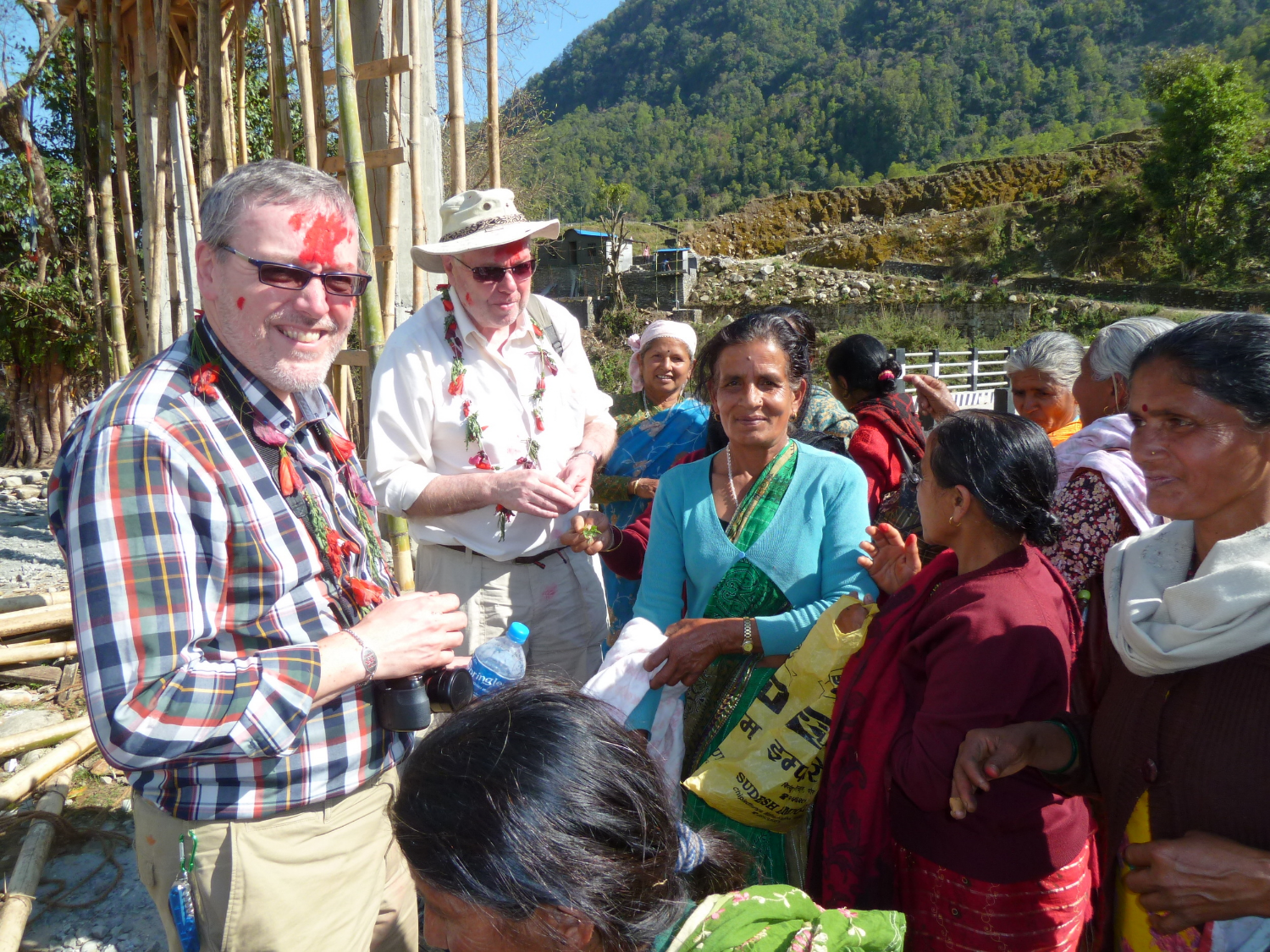 WDR supporters visit to Kopila-Nepal, March 2015