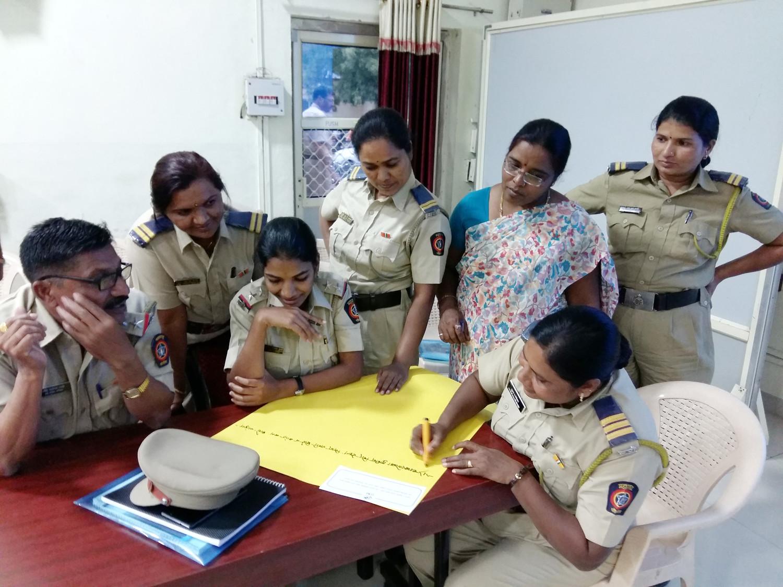 Mumbai Police training