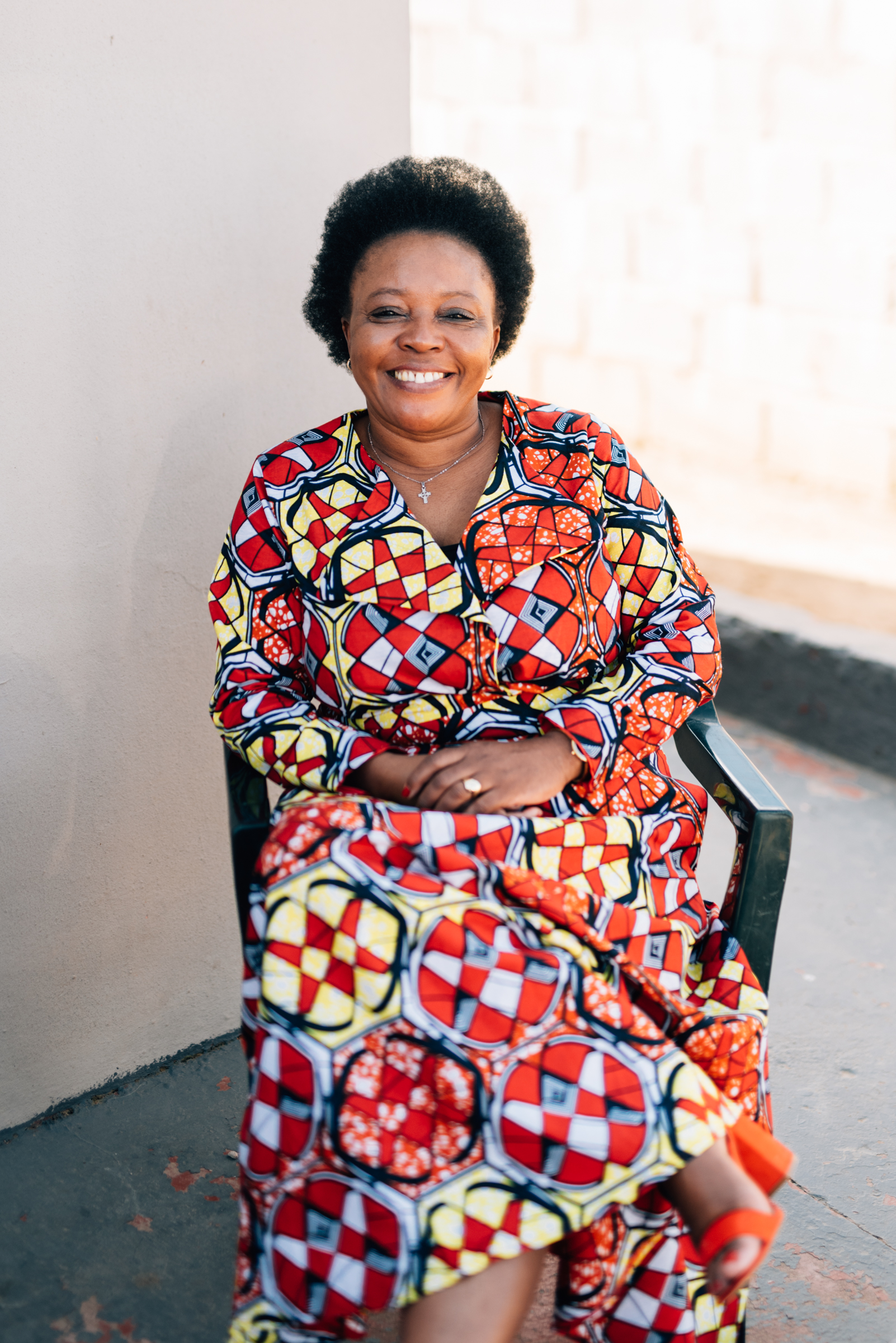 Thokozani Poswa - I love my job- Phakamisa [WDR Partner] is part of me, it is in me!I love my Gogos (care-givers) and my staff. At Phakamisa we reach many with just a few. My vision for Phakamisa is to have more space, to run HIV programmes, early childhood development programmes... to have a shop for our Gogos to sell their crafts.Director at Phakamisa, Pinetown, South Africa.